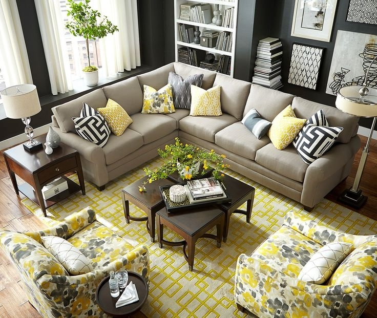 Fashionable Yellow Accent Living Room – Coma Frique Studio #d4Faa9D1776B With Accent Sofa Chairs (View 7 of 15)