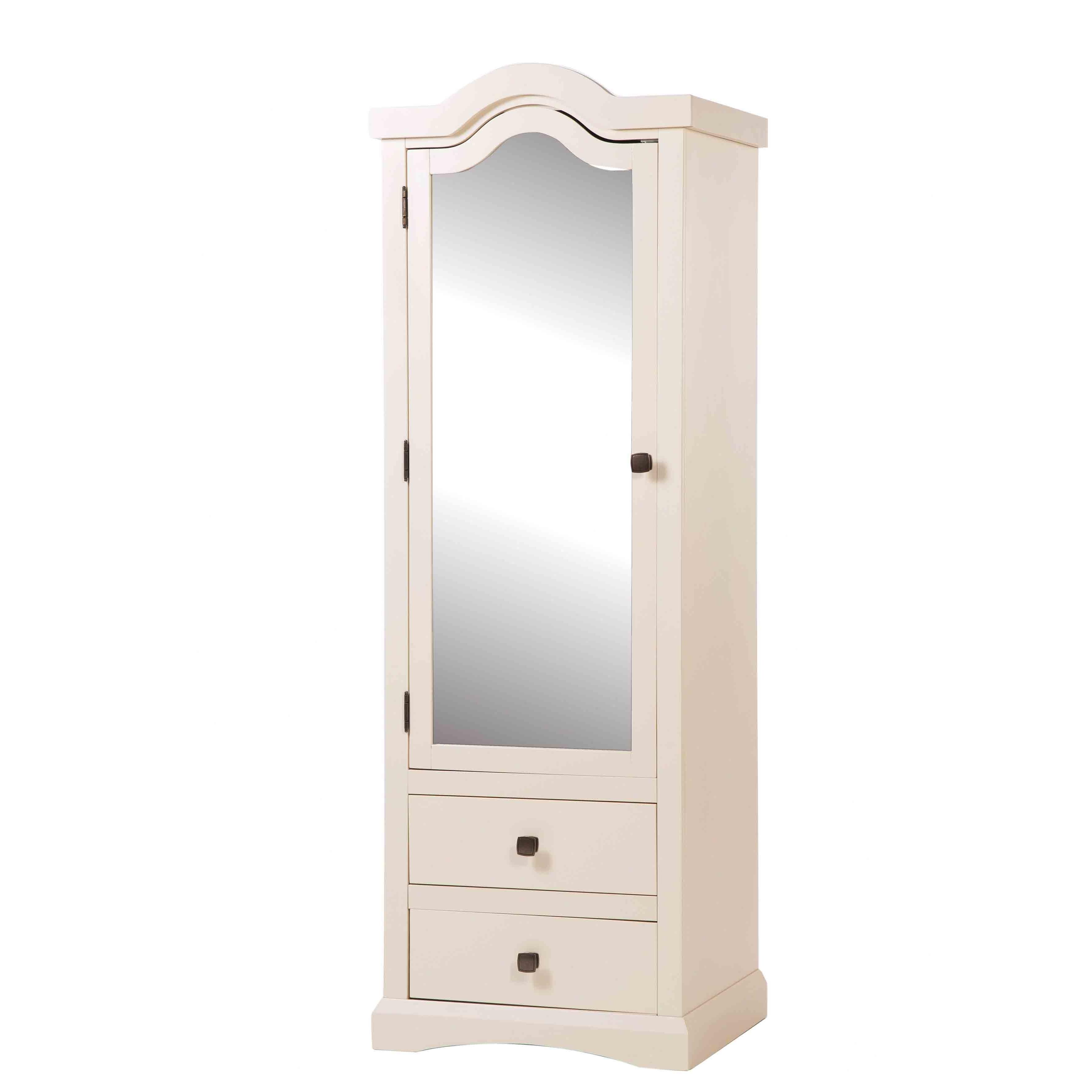 Featured Photo of 1 Door Mirrored Wardrobes