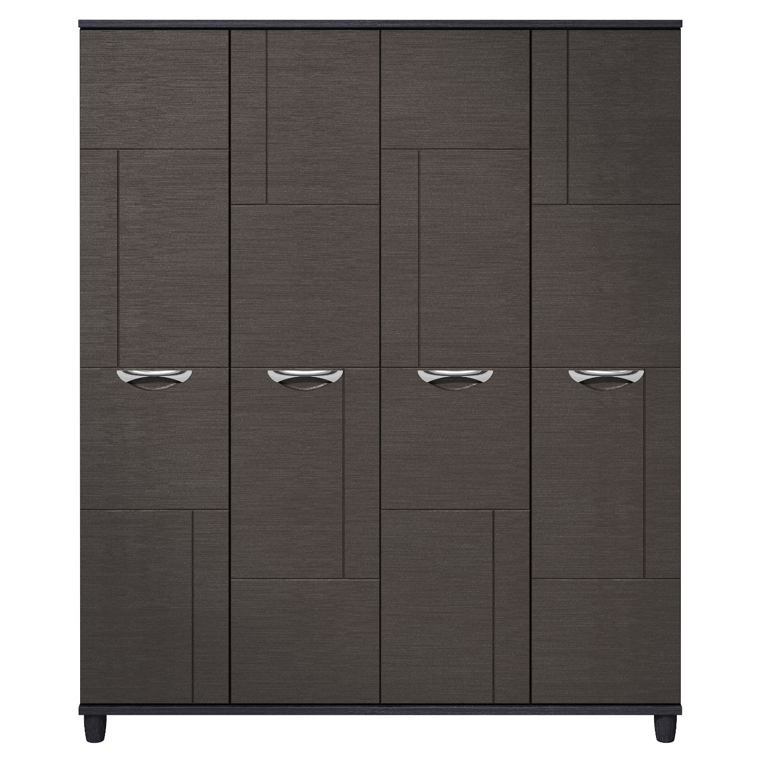 Favorite 4 Door Wardrobes Within Cesca 4 Door Wardrobe – Next Day Delivery Cesca 4 Door Wardrobe (View 9 of 15)