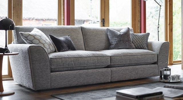 Favorite 4 Seater Sofas Within Ashley Manor Sofas Hobbs 4 Seater Sofa – 4 Seater Sofas (View 11 of 15)