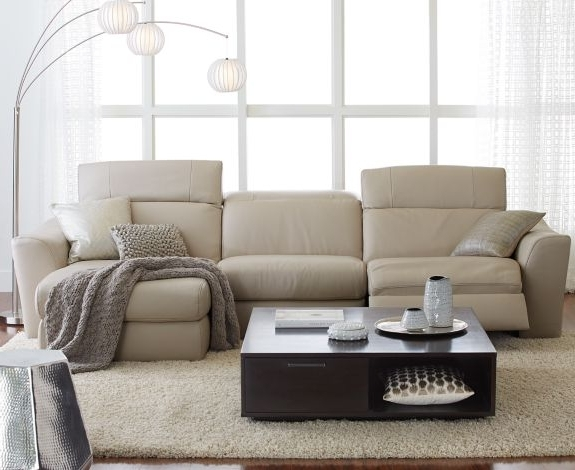 Favorite Alessandro 6 Piece Leather Sectional With Chaise & 2 Power Motion Throughout 6 Piece Leather Sectional Sofas (View 11 of 15)
