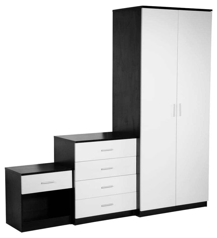 Favorite Black And White Wardrobes Set With Jacob Holmes (View 12 of 15)
