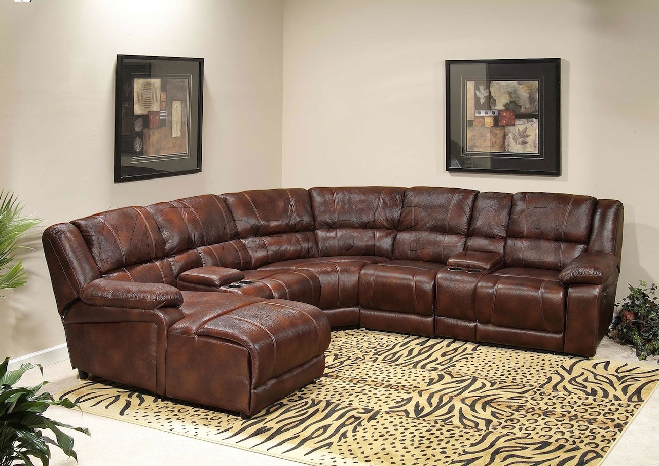 Favorite Chaise Sectionals Pertaining To Sectional Sofa Design: Affordabale Sectional Reclining Sofa With (View 8 of 15)