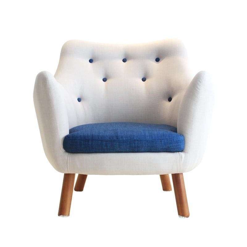 Favorite Cheap Single Sofas Intended For Sofa Chair Mid Century Modern Style Armchair Sofa Chair Living (View 3 of 10)