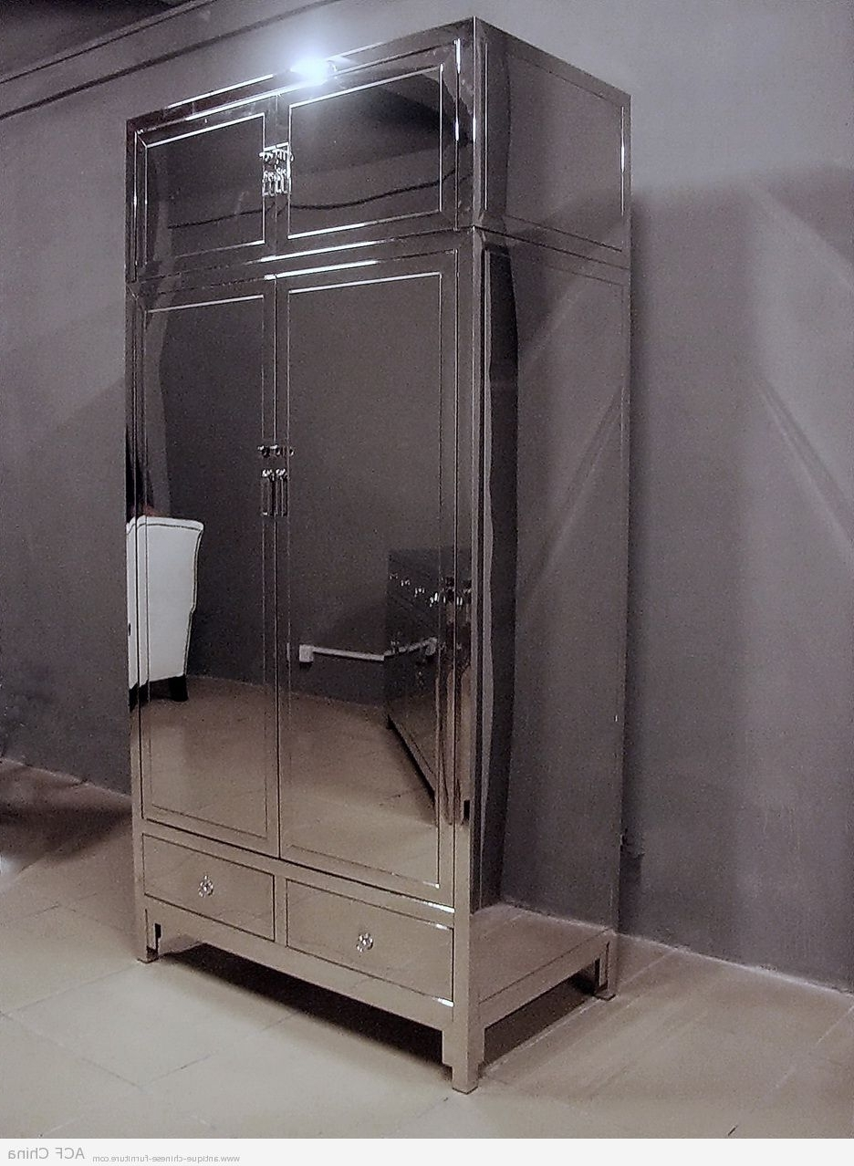 Favorite Classic Chinese Style + Contemporary Stainless Steel = Design With Regard To Chinese Wardrobes (View 11 of 15)