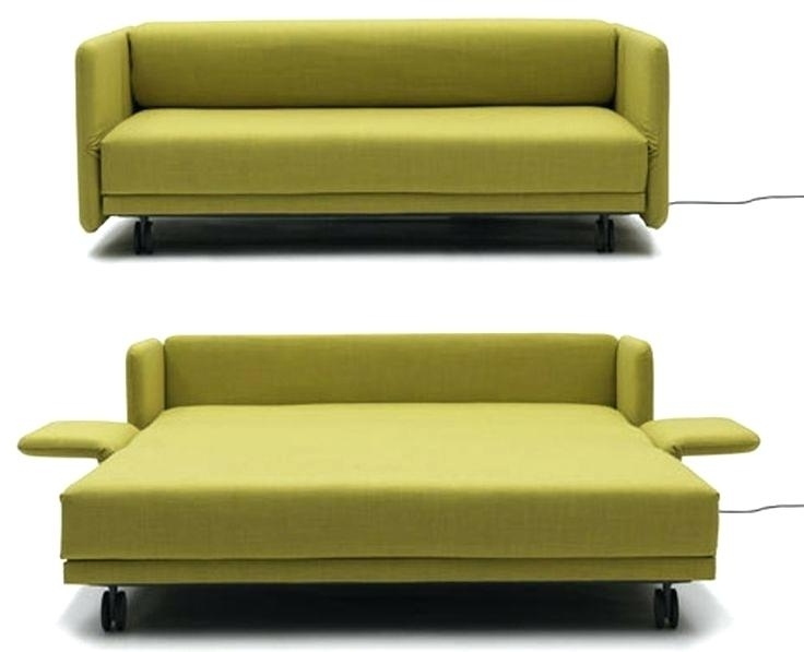 Favorite Convertible Sofas With Beautiful Small Convertible Sofa Images View In Gallery From Crate (View 7 of 10)