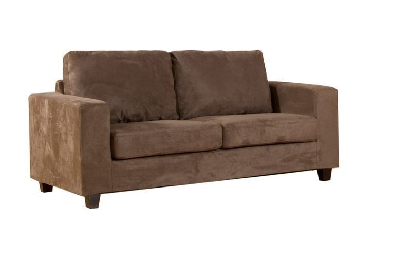 Favorite Faux Suede Sofas For Faux Suede Sofa 1, 2 And 3 Seater Suites Set – Homegenies (View 3 of 10)
