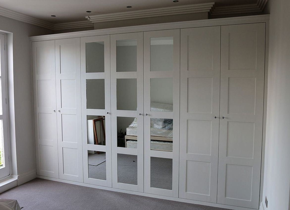 Favorite Fitted Wardrobes, Bookcases, Shelving, Floating Shelves, London Inside Full Mirrored Wardrobes (View 4 of 15)