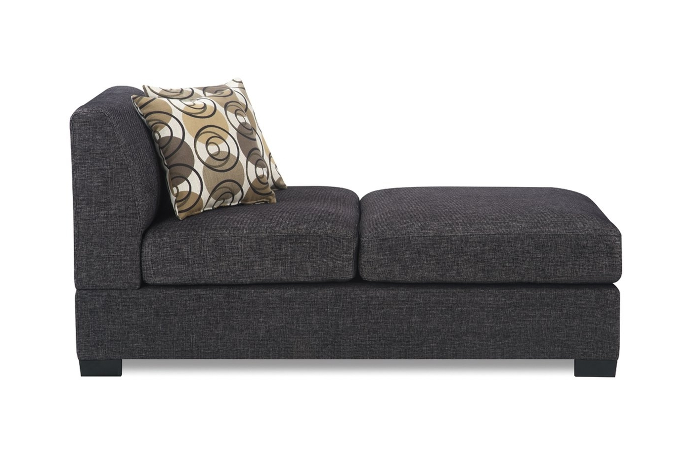 Favorite Grey Chaise Lounges Regarding Grey Fabric Chaise Lounge – Steal A Sofa Furniture Outlet Los (View 6 of 15)