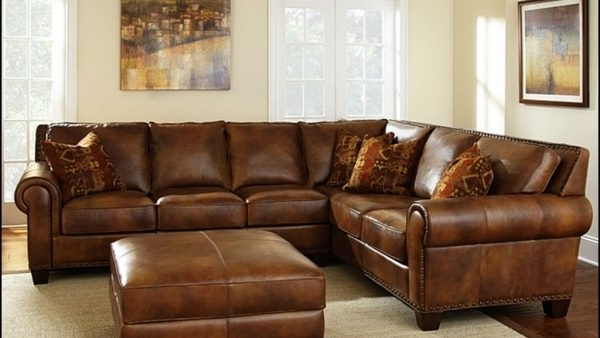 Favorite High End Leather Sectional Sofas Throughout Oregonbaseballcampaign (View 2 of 10)