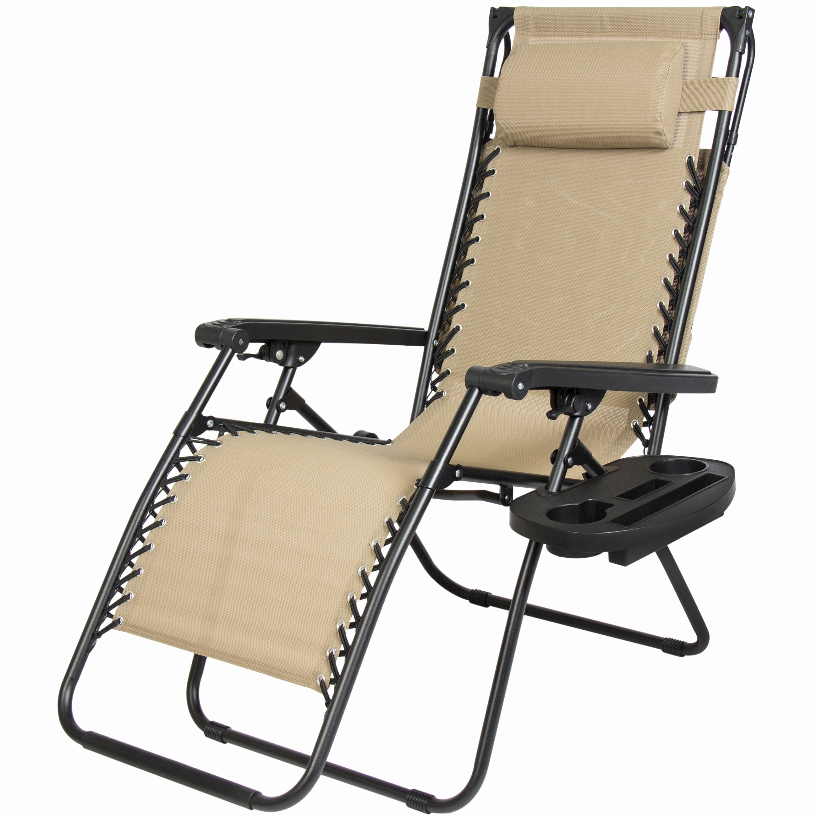 Favorite Lightweight Chaise Lounge Chairs For Outdoor : Folding Outdoor Lounge Chairs Outdoor Double Chaise (View 5 of 15)