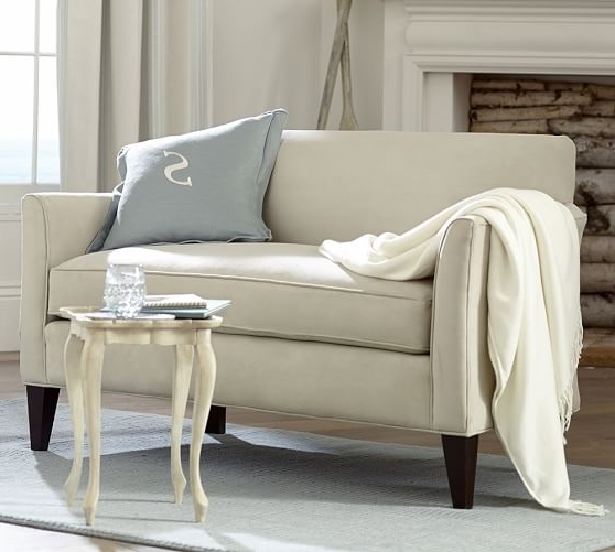 Favorite Mini Sofas Within Marcel Upholstered Mini Sofa (View 1 Of 10)