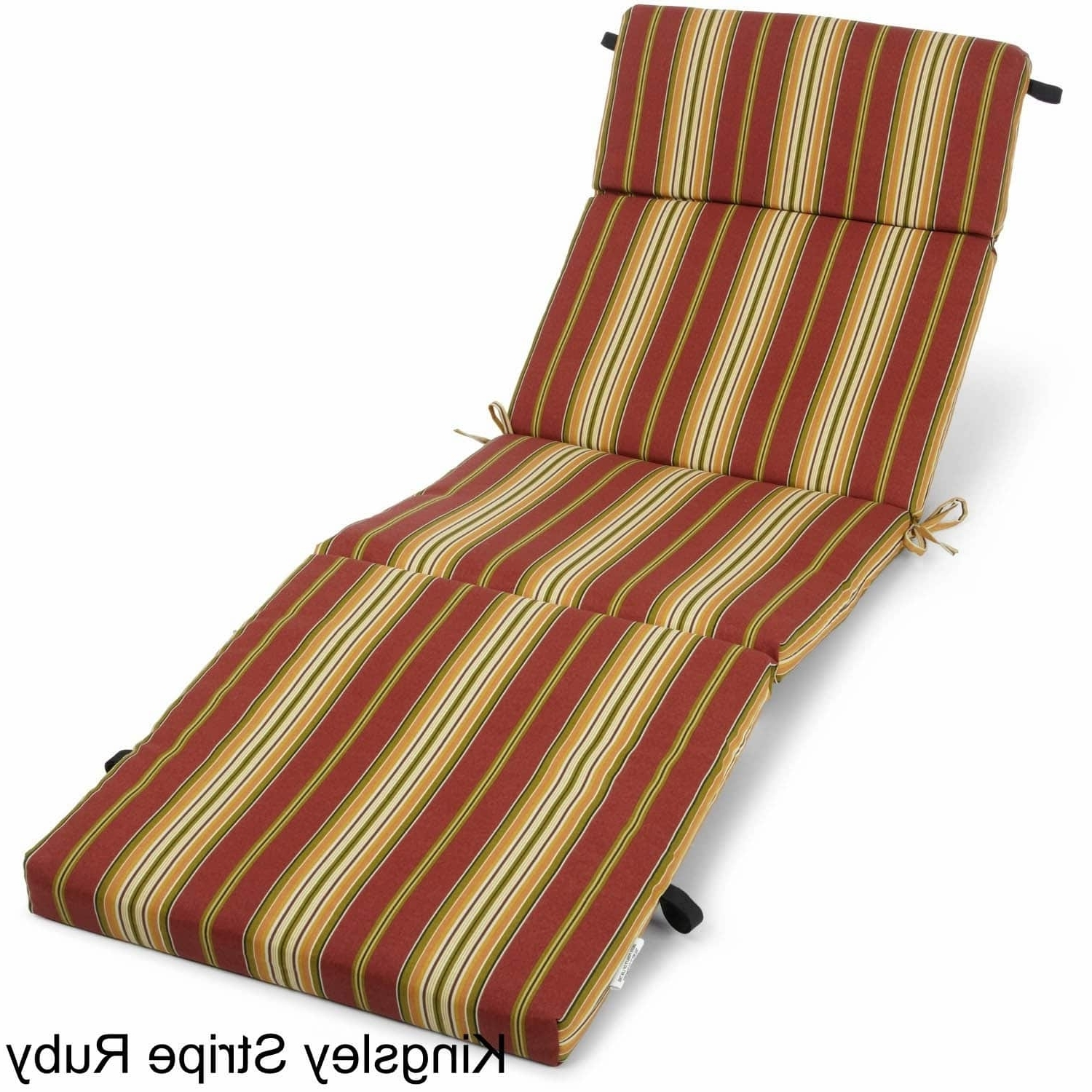 Favorite Outdoor Chaise Cushions With Outdoor Chaise Lounge Cushion – Free Shipping Today – Overstock (View 5 of 15)