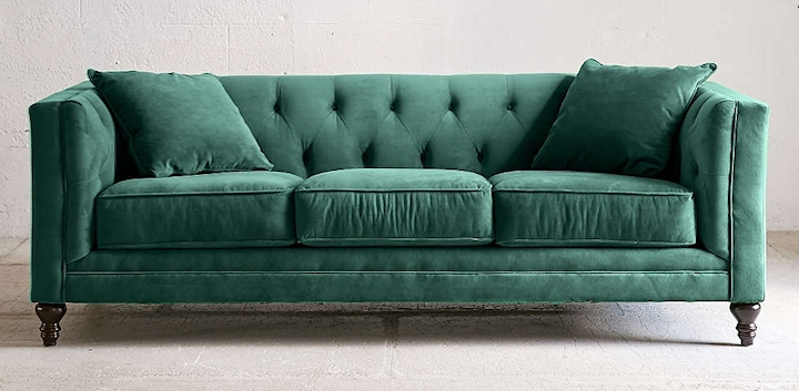 Favorite Searching For The Perfect Velvet Sofa In Velvet Sofas (View 2 of 10)