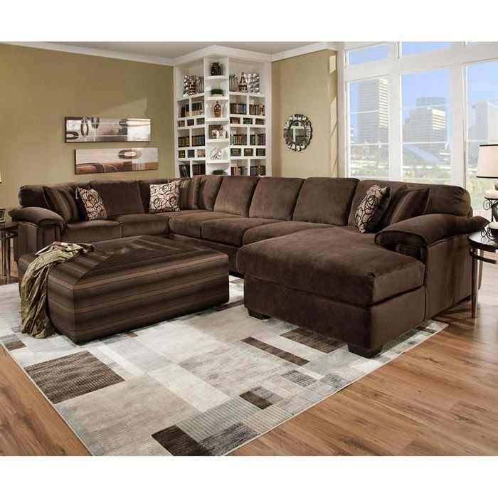 Favorite Sectional Sofas With Oversized Ottoman With Regard To Nebraska Furniture Mart – Henderson 3 Piece Oversized Sectional (View 6 of 10)