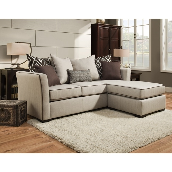 Favorite Simmons Chaise Sofas Within Simmons Upholstery Stewart Sofa Chaise – Free Shipping Today (View 3 of 10)
