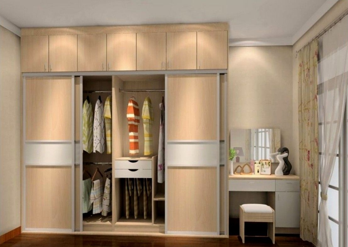Favorite Simple Wardrobe With Dressing Table Designs For Bedroom Indian 89 For Wardrobes And Dressing Tables (View 6 of 15)