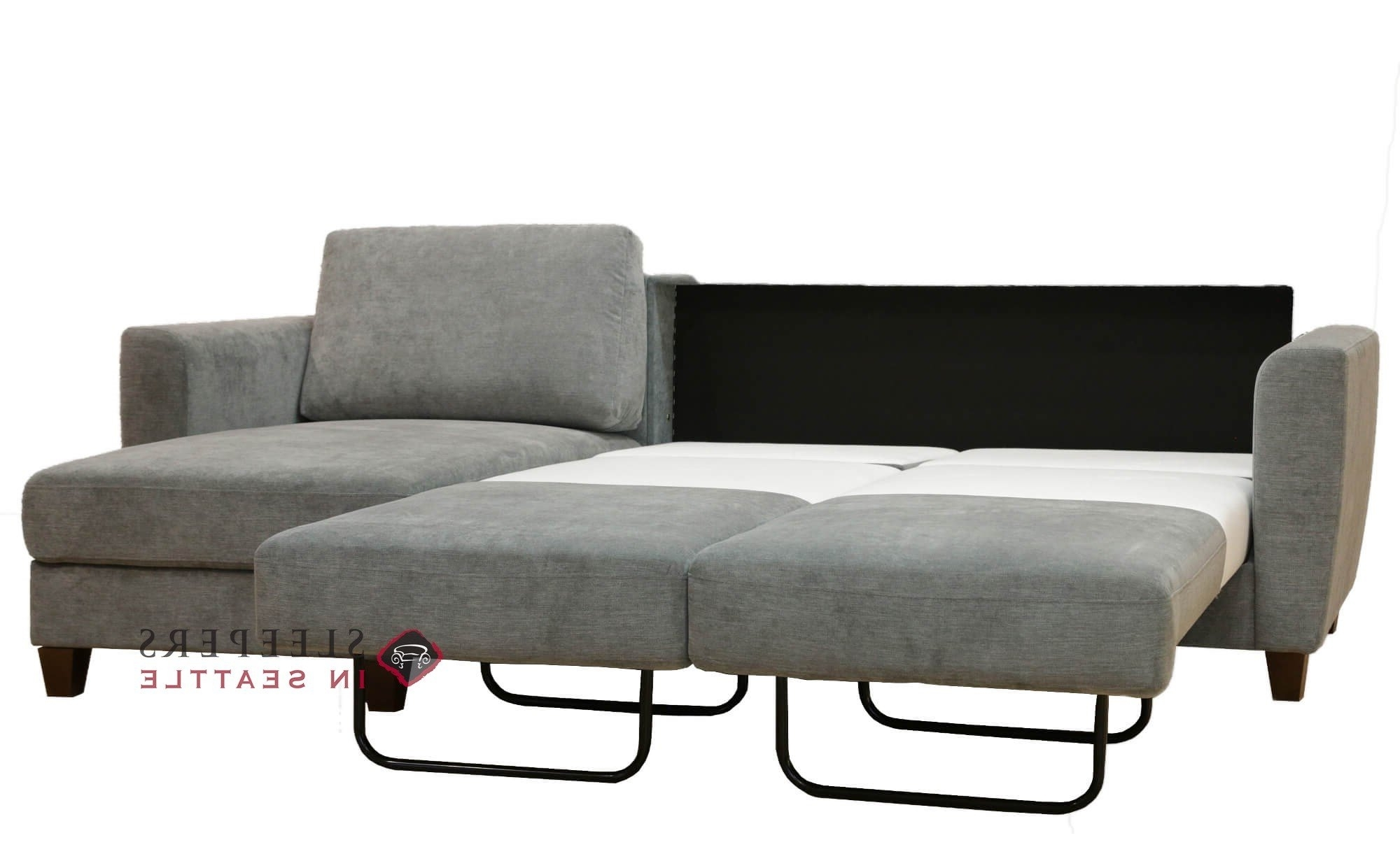 Favorite Sleeper Chaises Regarding Customize And Personalize Flex Chaise Sectional Fabric Sofa (View 9 of 15)
