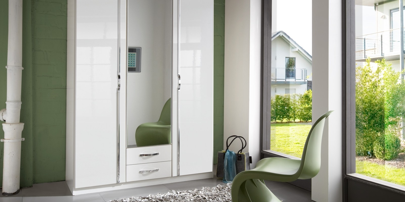 Favorite Sliding Wardrobes Doors – Handballtunisie Throughout Cream Gloss Wardrobes Doors (View 11 of 15)