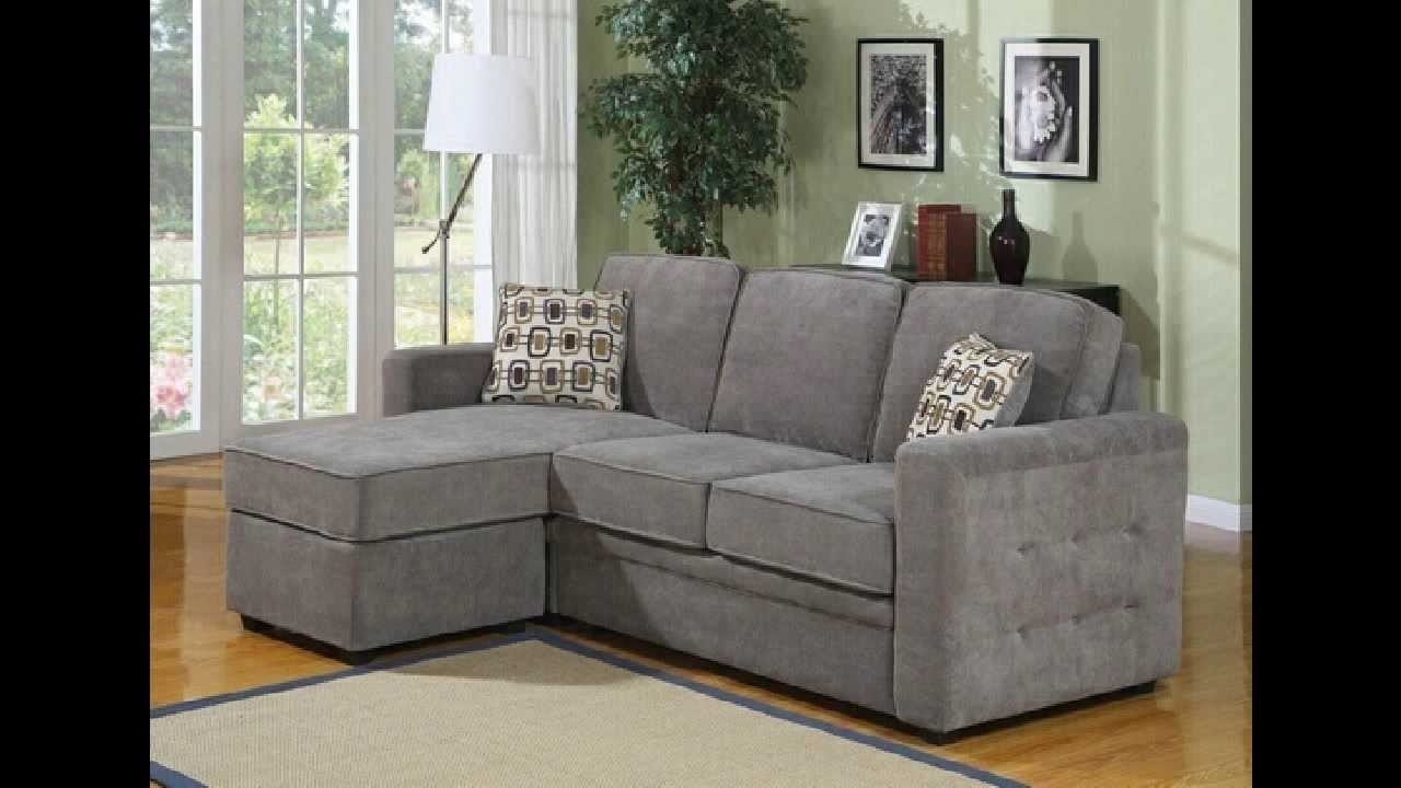 Favorite Sofas With Reversible Chaise In 2 Pc Lucas Charcoal Fabric Upholstered Sectional Sofa With (View 3 of 15)