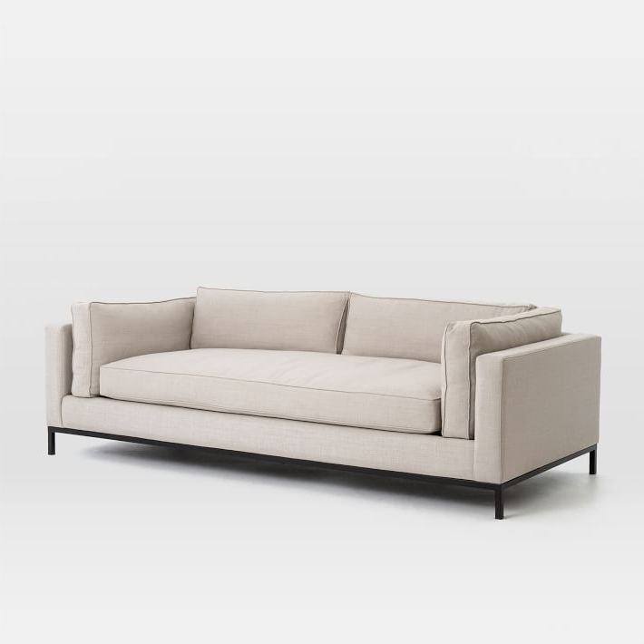 "Favorite Soft Sofas Within Modern Arm Sofa (92"") (View 9 of 10)"