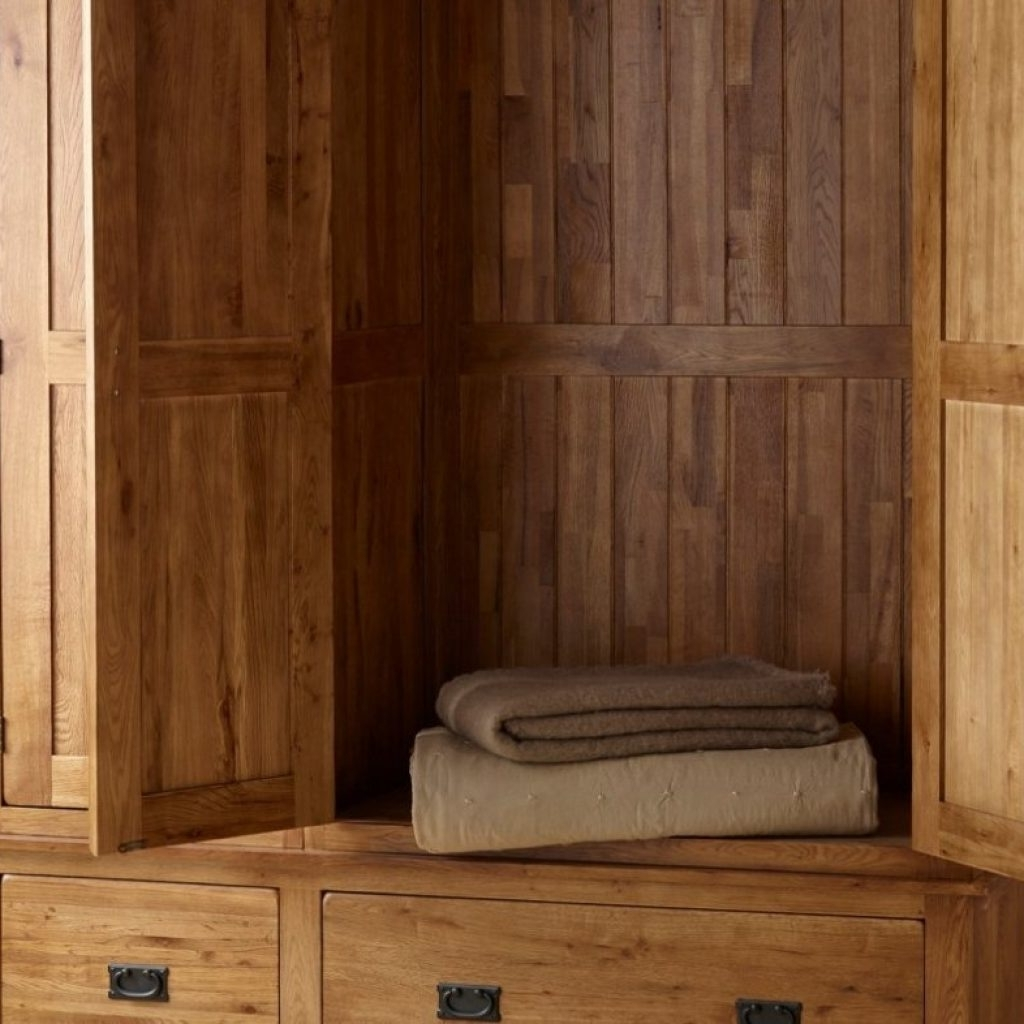 Favorite Triple Oak Wardrobes Within Photos Oak Wardrobes Ebay – Buildsimplehome (View 7 of 15)