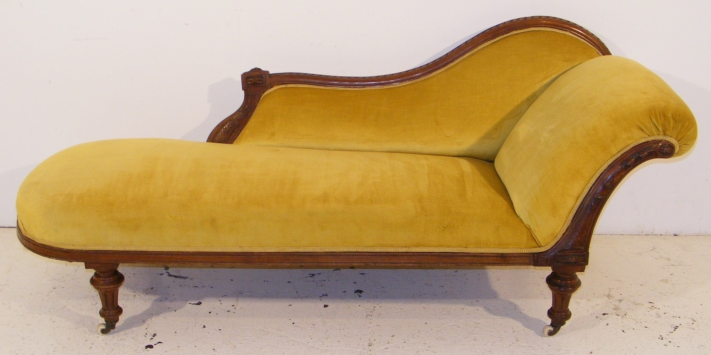 Favorite Victorian Chaise Lounge – Long Melford Antiques Centre With Victorian Chaise Lounge Chairs (View 6 of 15)
