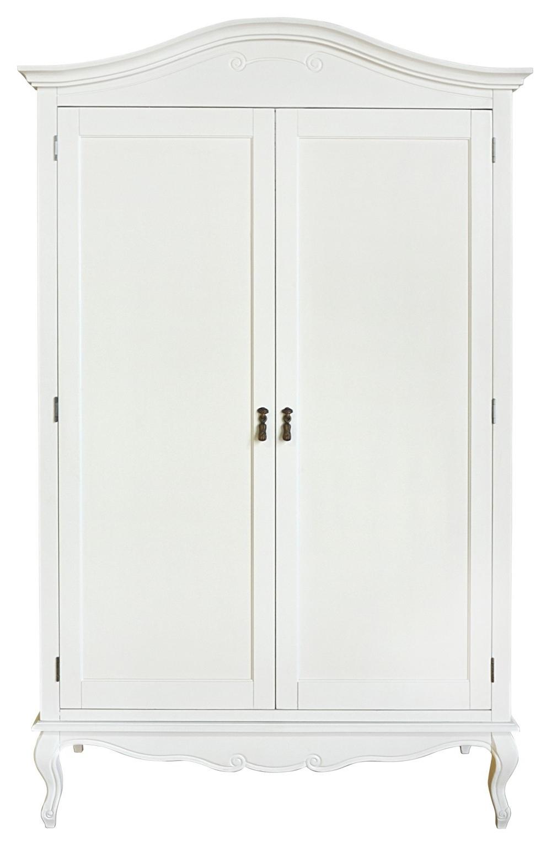 Favorite White Shabby Chic Wardrobes Throughout Shabby Chic White Double Wardrobe (View 3 of 15)