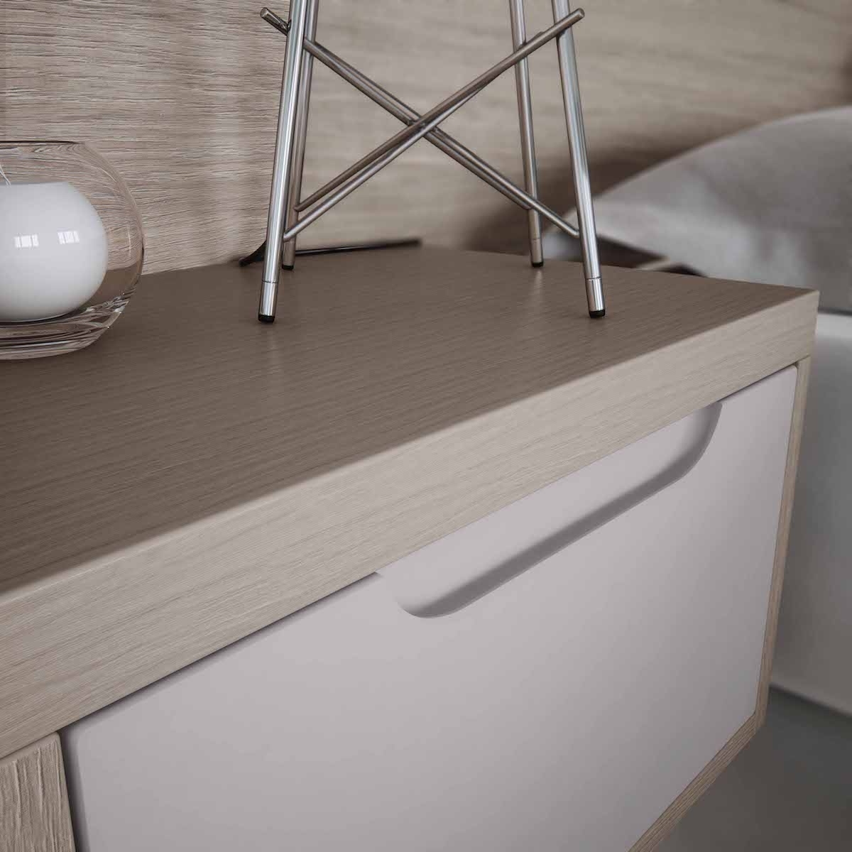 Fitted Wardrobes Orla Integral Handle Cameo – Beyond Bathrooms Throughout Newest Cameo Wardrobes (View 13 of 15)