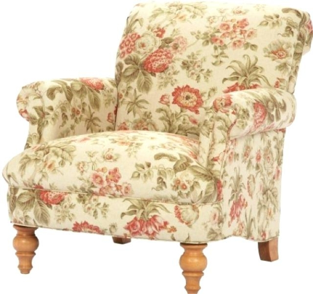 Floral Armchair Chintz Armchair Floral Chair Floral Sofas For Sale Regarding Well Known Chintz Sofas And Chairs (View 5 of 10)