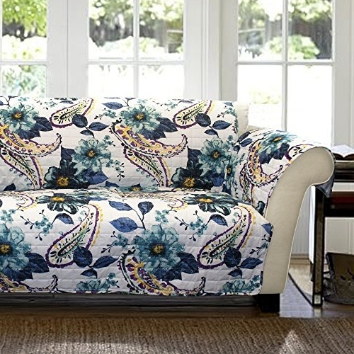 Floral Loveseat Slipcovers: Amazon Pertaining To Most Recent Chintz Floral Sofas (View 6 of 10)