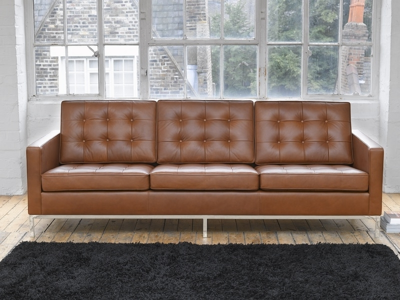 Florence Knoll Style Sofas Within Newest Modern Florence Knoll Style Sofa D16 In Decorating Home Ideas With (View 5 of 10)