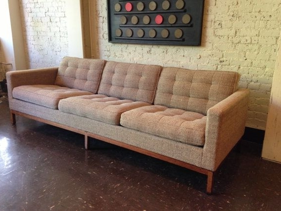Florence Within Florence Knoll Wood Legs Sofas (View 5 of 10)