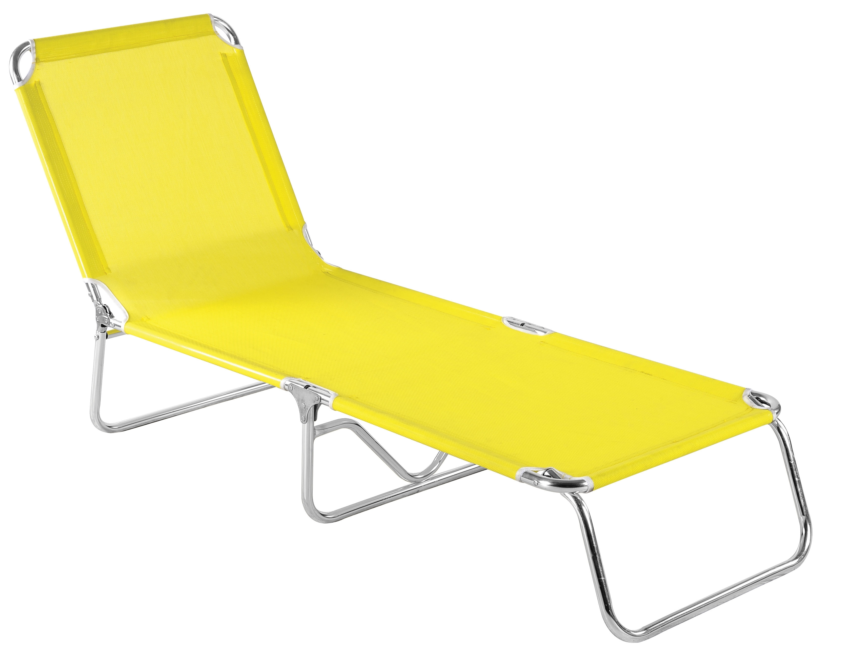 Folding Beach Chaise Lounge (Gallery 14 of 15)