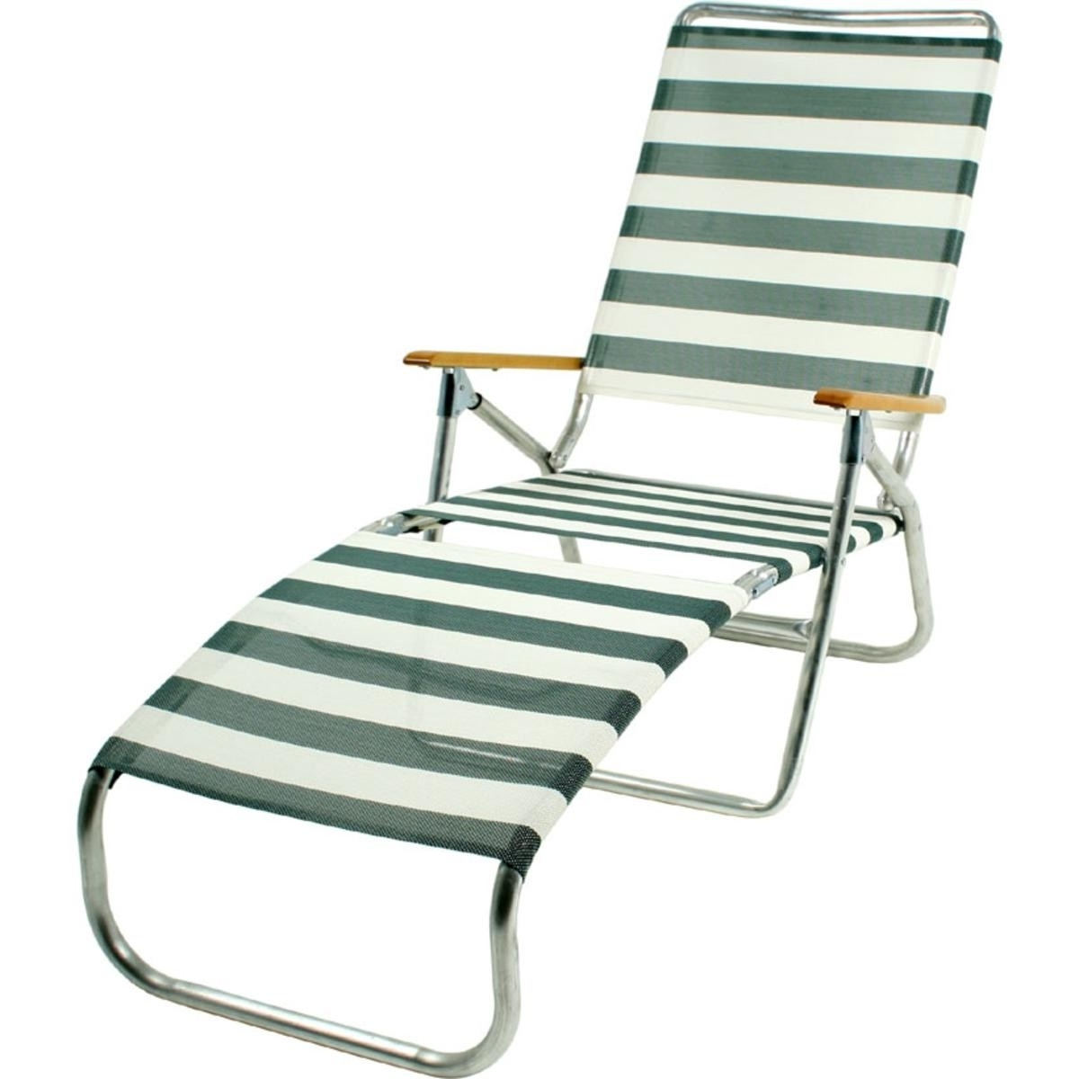 Folding Chaise Lounge Chairs Within Favorite Folding Beach Chaise Lounge Chairs Ideas With Idea  (View 6 of 15)