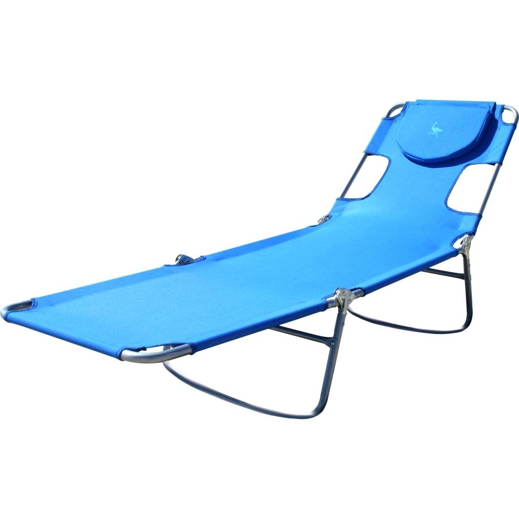 Folding Chaise R Rs Storecom Beach Pool Ostrich Lounge Chair Pertaining To Newest Ostrich Lounge Chaises (View 15 of 15)