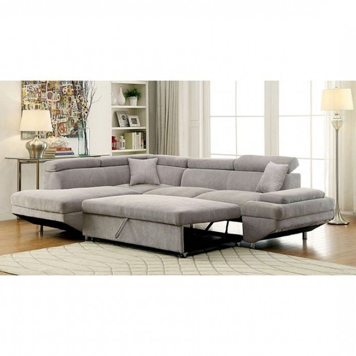 Foreman Gray Sectional Sofa – Cm6124Gy (View 4 of 10)