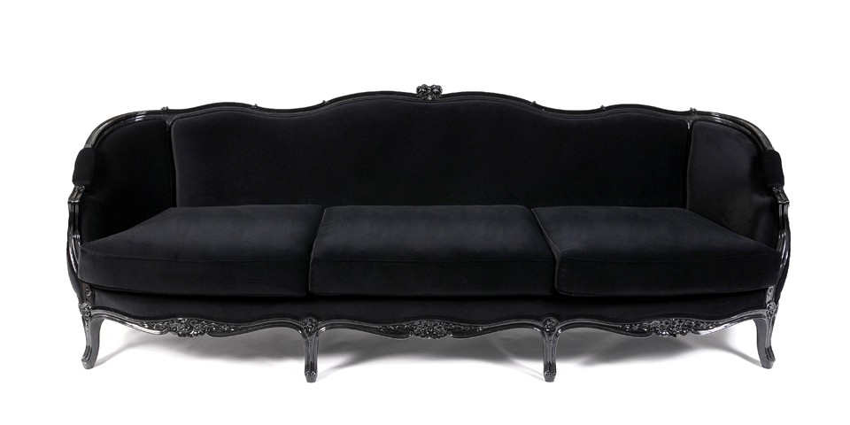 French Sofa, Gothic (View 8 of 10)