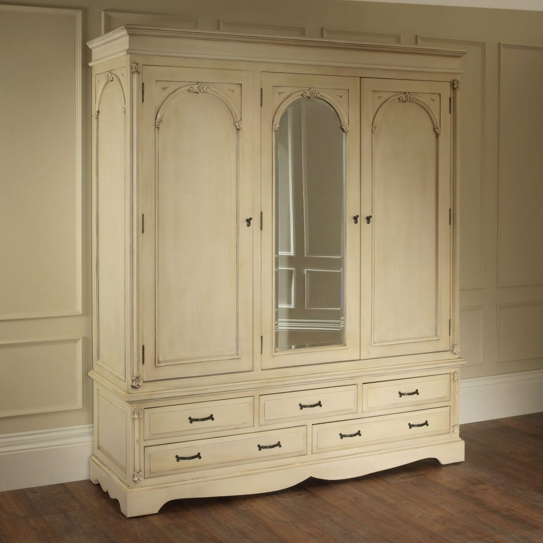 French Style White Wardrobes With Regard To 2017 White French Style Wardrobes Mirrors Australia Wardrobe Closet (View 13 of 15)