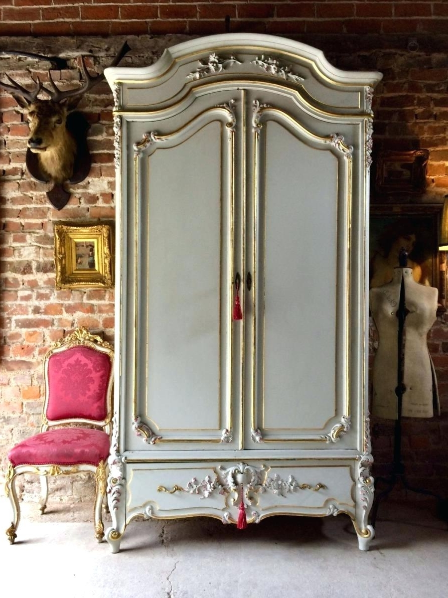 French Wardrobes For Sale With Fashionable French Armoire French Armoire For Sale Sydney French Armoire (View 8 of 15)
