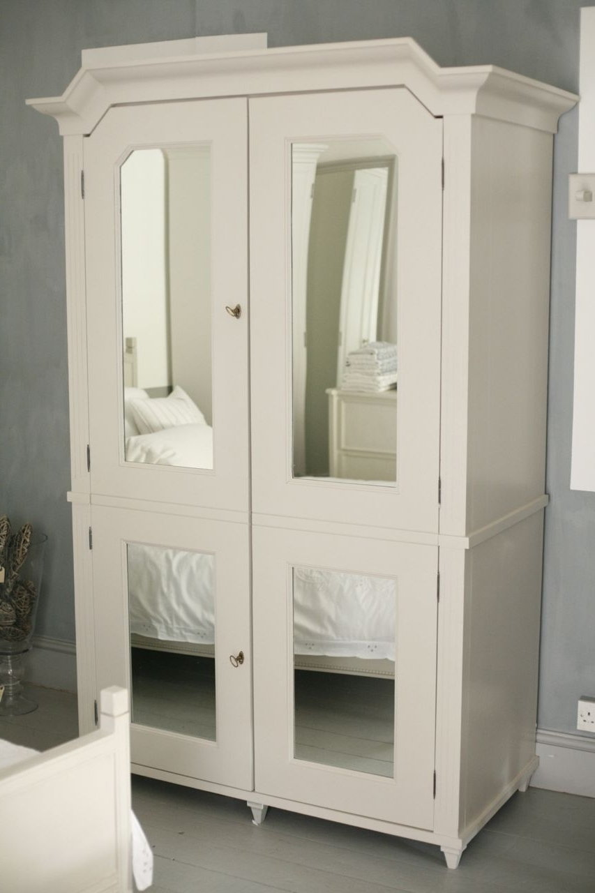 French Wardrobes White Armoire — Entrestl Decors : Elegant White With Current French Wardrobes (View 7 of 15)