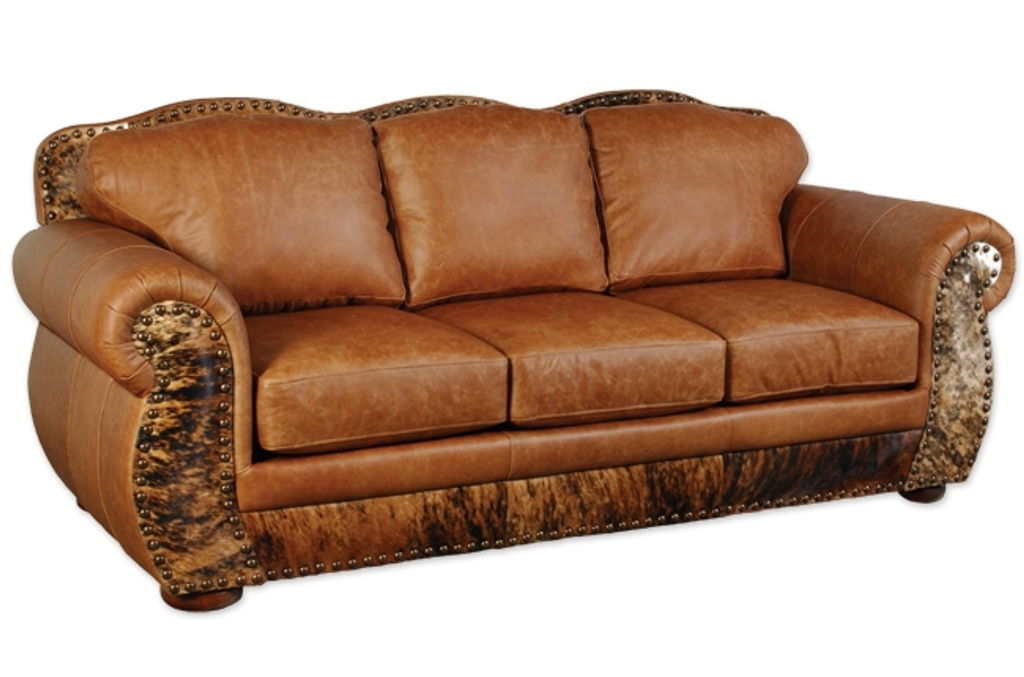 Full Grain Leather Sofas Regarding Newest Full Grain Leather Sofa Curved — Fabrizio Design (View 5 of 10)