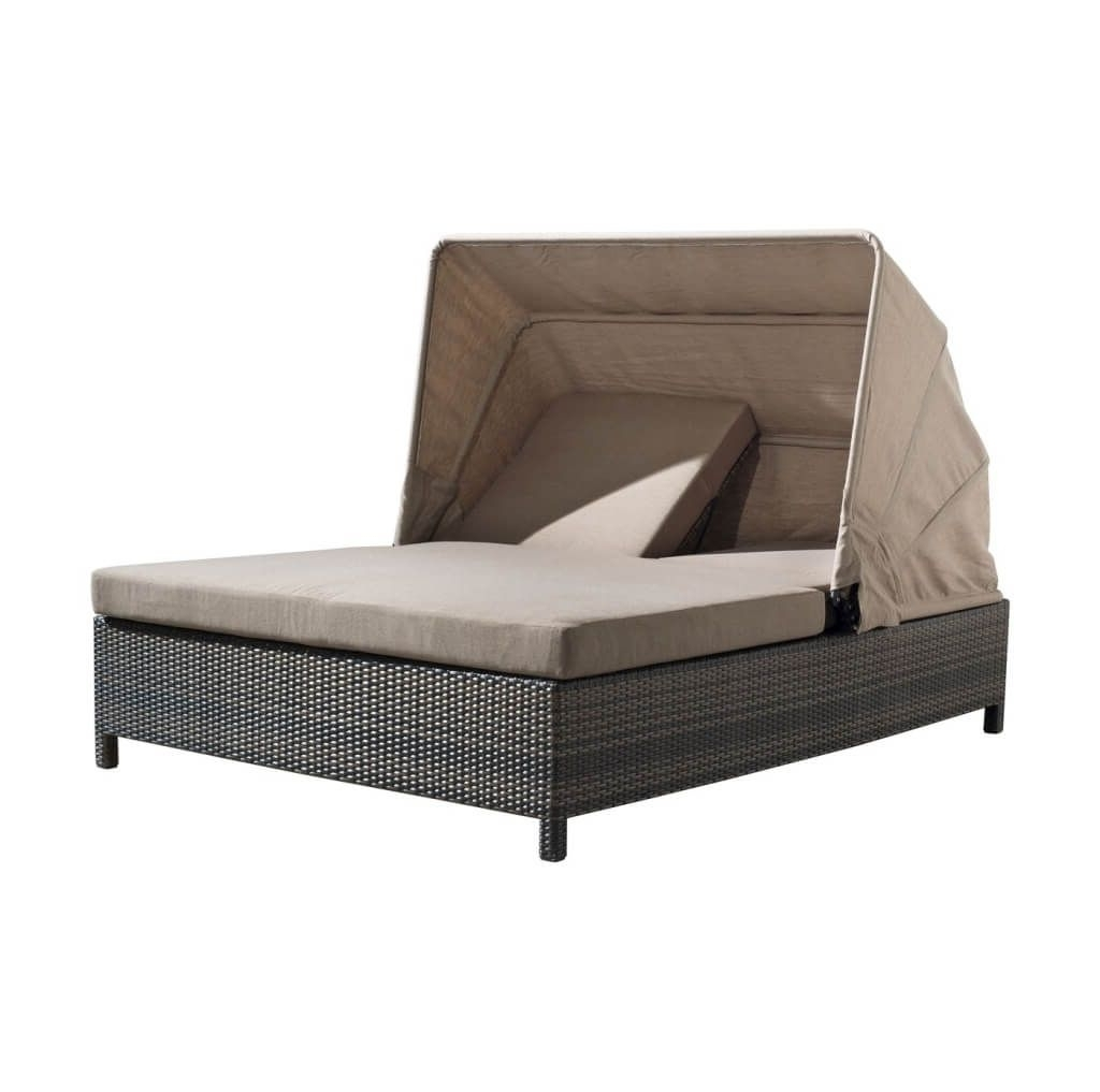 Furniture: Amazing Wicker Outdoor Double Chaise Lounge Furniture Within Trendy Double Chaise Lounge Chairs (View 13 of 15)