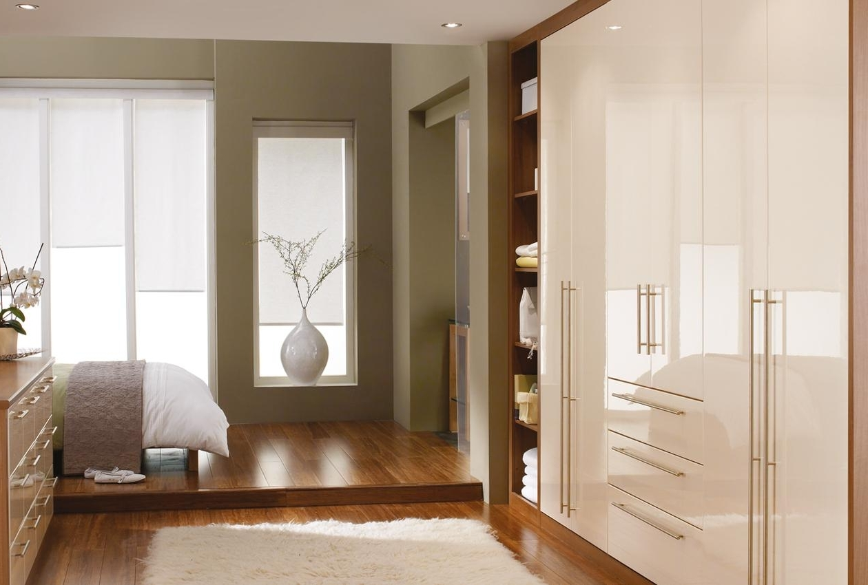 Furniture Home: Modern Contemporary Bedroom Furniture Cosmopolitan With Newest High Gloss Wardrobes (View 6 of 15)