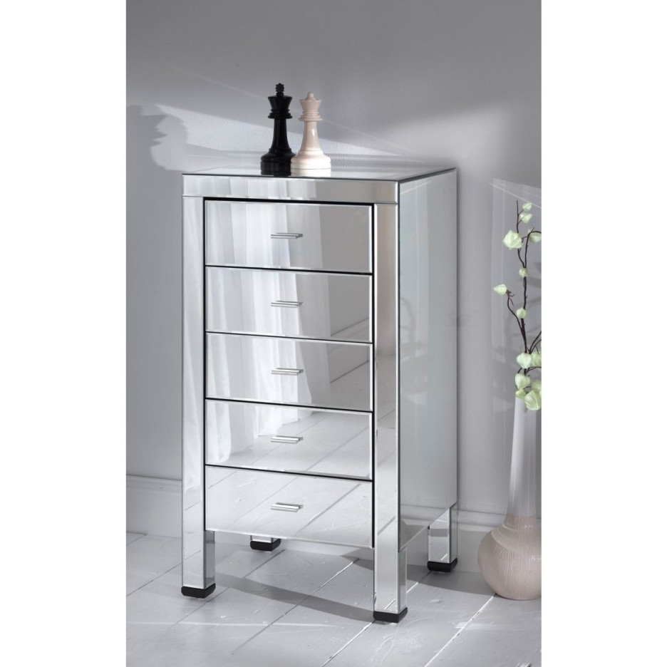 Furniture Inspiring Bedroom Furniture Of Mirrored Jewelry Armoire Inside Well Known Mirrored Wardrobes With Drawers (View 5 of 15)