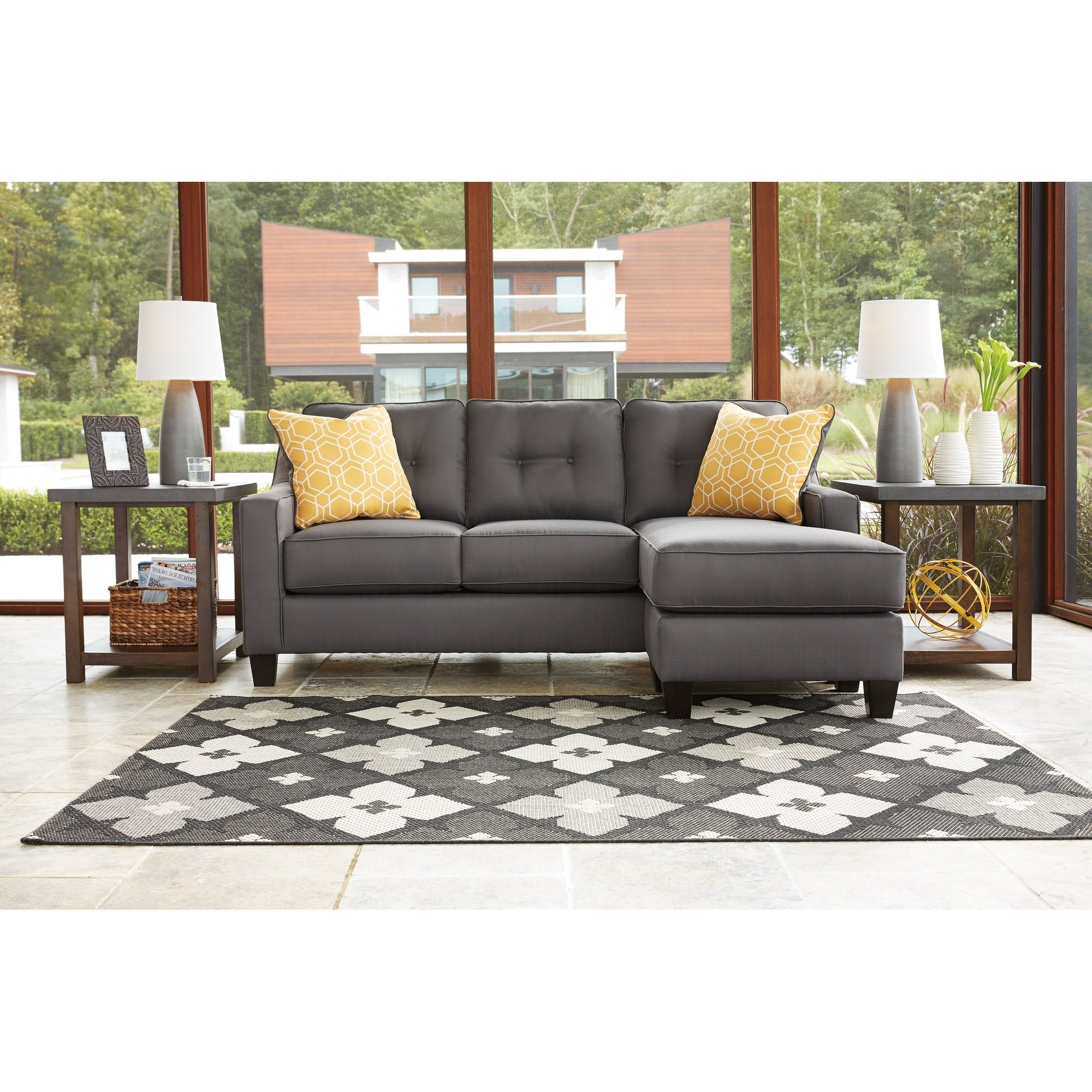 Furniture: Sofa With Movable Chaise (View 4 of 15)