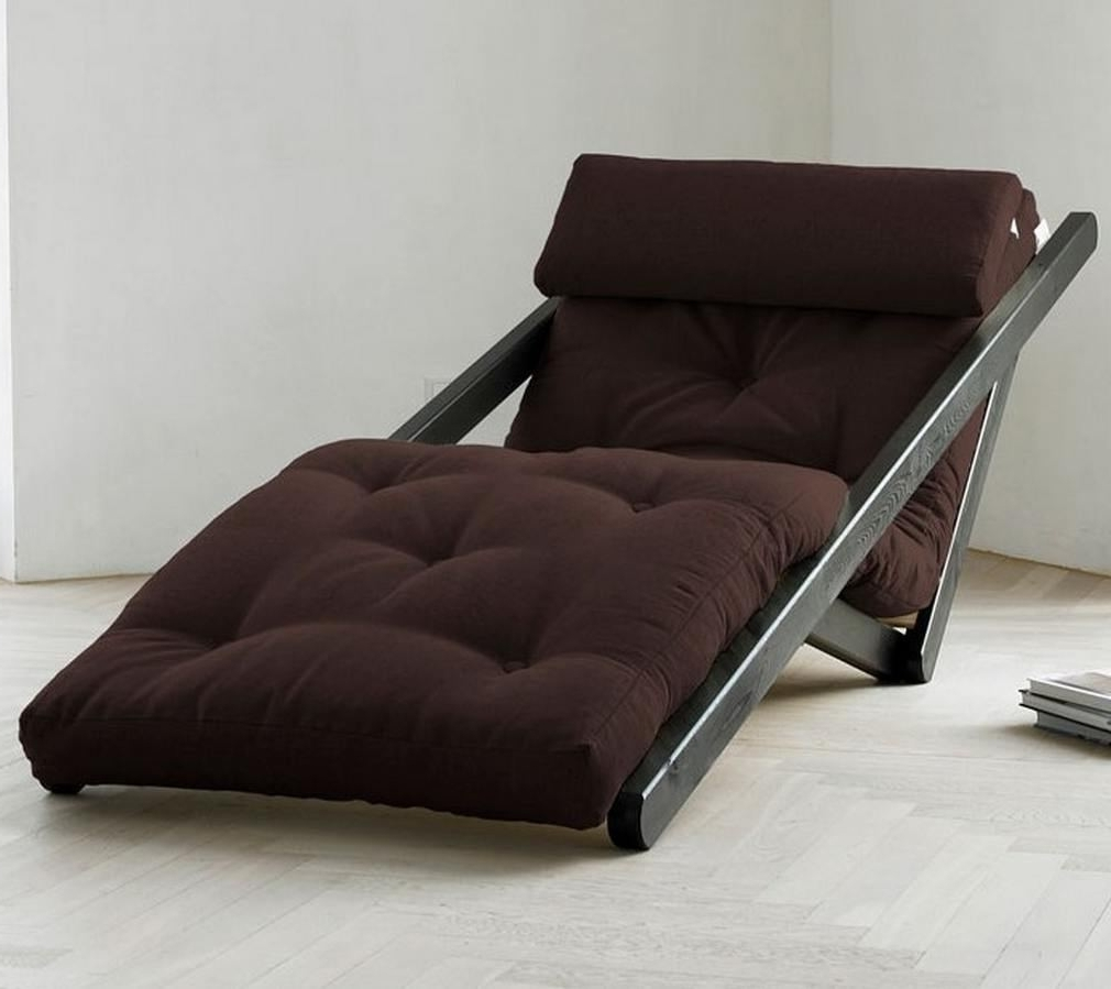 Futon Chaises Throughout Most Current Futon Lounger Chaise — Capricornradio Homescapricornradio Homes (View 8 of 15)
