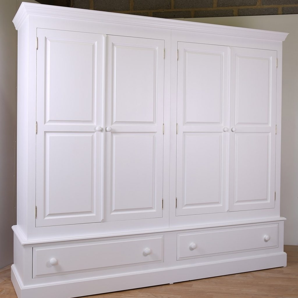 Gallery Painted Wardrobes Farrow And Ball – Buildsimplehome Intended For Preferred White Painted Wardrobes (View 4 of 15)