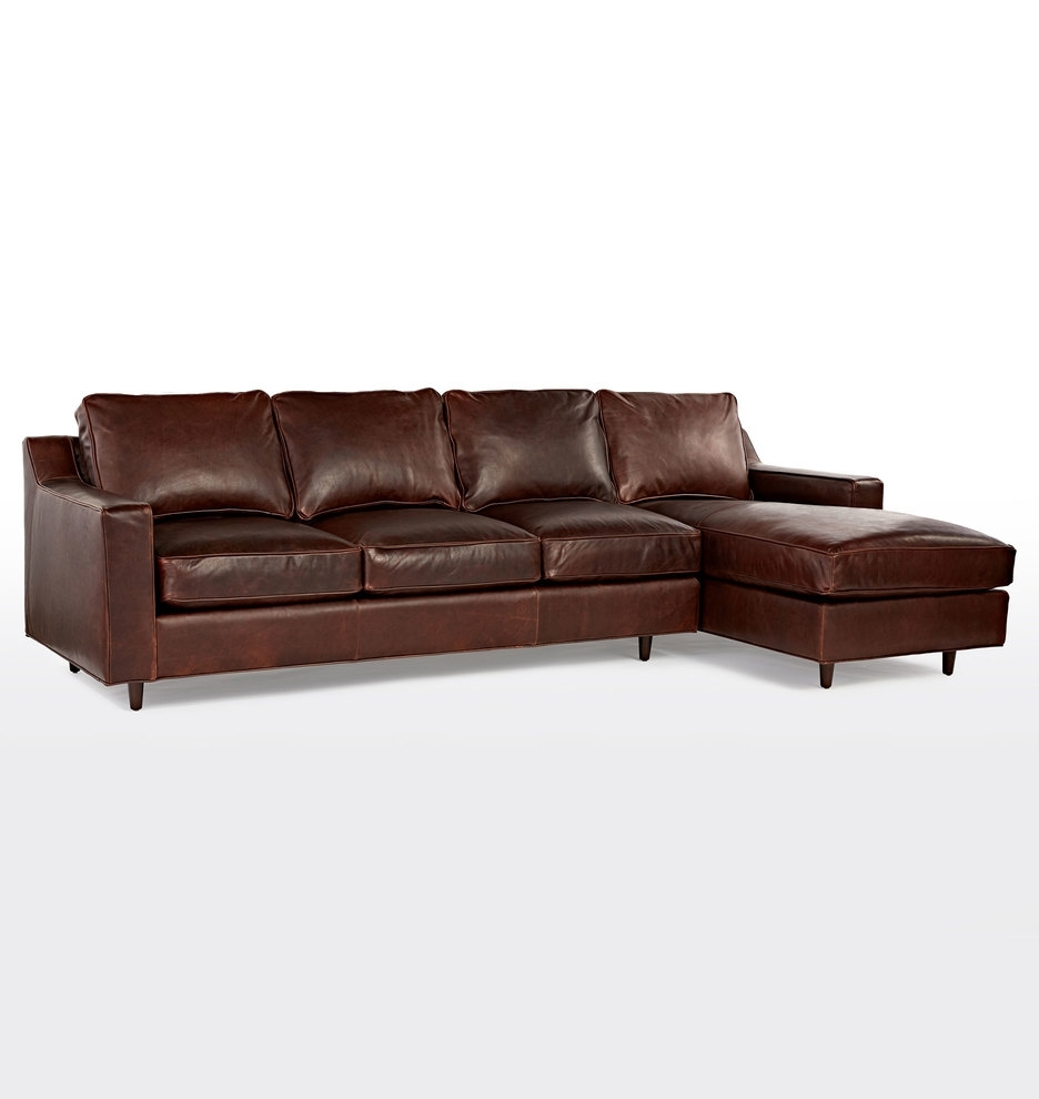 Garrison Large Sectional Leather Sofa – Left Chaise (View 4 of 15)