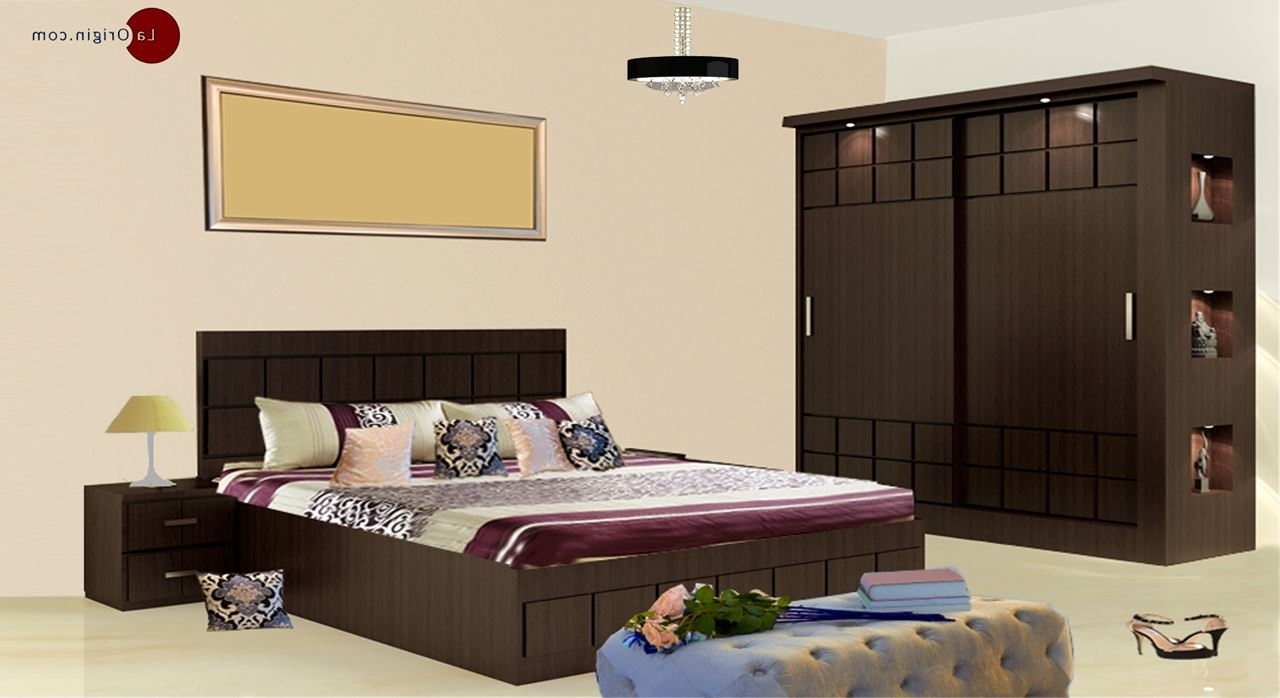 Get Modern Complete Home Interior With 20 Years Durability..paloma In Trendy Wardrobes Beds (Gallery 10 of 15)